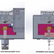 ICP5000DV WITH STANDARD AND DEMOUNTABLE TORCH