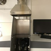 Extraction Hood for AAS Spectrometer