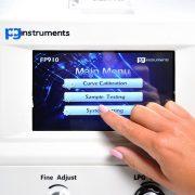 FP910 Main Menu Touch Screen
