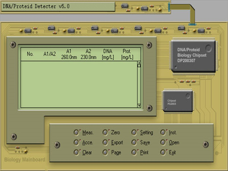 Example of an embedded Program Application